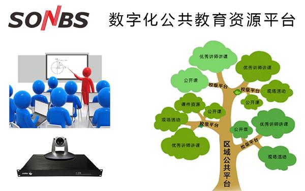 SONBS 高清录播系统-数字化公共教育资源平台