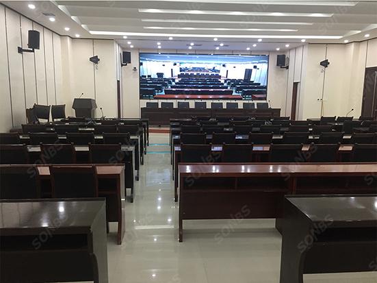 SONBS 数字会议系统成功应用于中国石油长庆油田公司培训