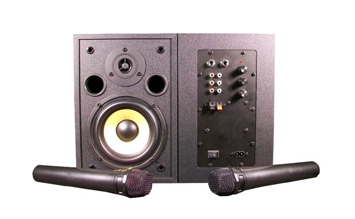 (内置无线话筒)多媒体教室有源音箱