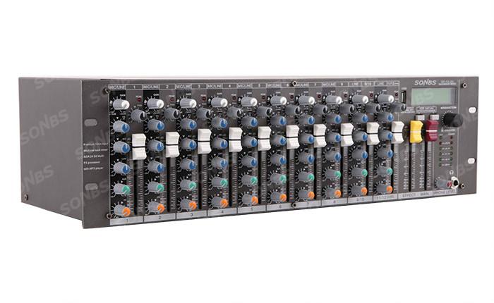 12路机架式调音台